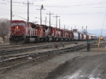 8 unit moster. Two sd 90mac's, a geep 9 and 5 sd 40-2's.