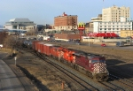 CP eastbound past Marina Park and Downtown P.A