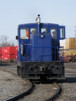 One of three Richardson's  grain Center Cab switcher