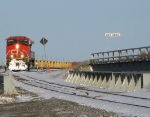 CN 436 comming down to turn its unit