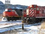 CN 2537 turning its unit as the CP Bowater jobs heads into Bowater