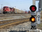 Cp 8867 passed the pot signal for the Jacknife bridge
