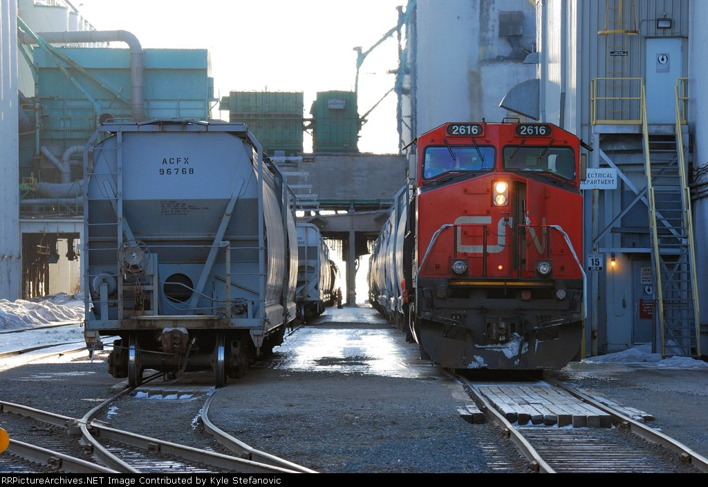CN spotting Canadian Malt