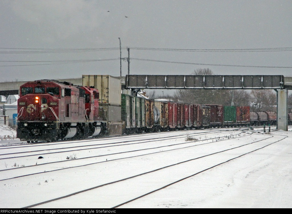 CP 441 with two sd 40-2's