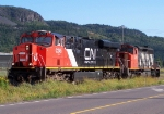 Cn 436's power being turned to head out on 437