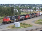 CN power up at Thunder Bay north