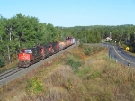 Cn 436 through Kakabeka Falls