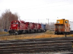 Power off of a loaded grain train