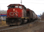 CN 5302 pulls a transfer across town