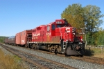 CP 8218 leads the TEC train east