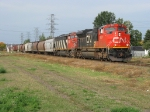 CN transfer move through town