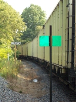 Passing CSX coal train
