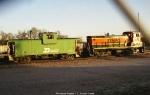 BN 12552 & BNSF 3644