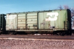 BN double door boxcar