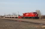 CP 8802 heading up a Railmate test train
