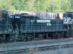 NS Slug 917 in Brosnan Yard