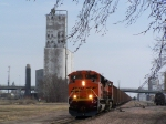 BNSF 9144 Continues its Northward Trek to Sioux City