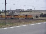 BNSF 8831 Heads South Toward Kansas City