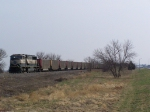BNSF 9622 Leads Empties West