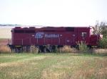 Nebraska-Kansas-Colorado RailNet #5 (GP30M) Sits Near the NKCR-BNSF Interchange