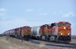 BNSF 6065 Passes BNSF 5284