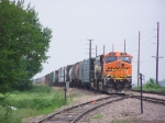 Southbound Mixed Freight Idles