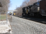 NS 9505 heading up Reading/Hershey Line
