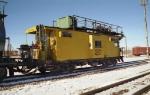 Modified Caboose - Loram Train