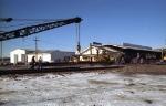 BN 972064 Rail Crane in Action