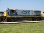 CSX 9134 retired