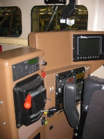 CSX 8536 control stand