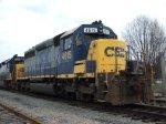 CSX 4615, retired