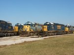 SD40-2s everywhere