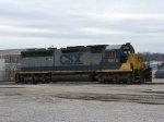 CSX 8972, retired
