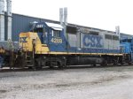 CSX 4289, retired