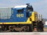 CSX 5912, retired