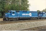 "SD45-2 6663 now sports the new ""quality"" paint scheme"