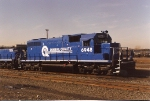Not normally assigned here, SD38 6948 sits at the east end of  Oak Island