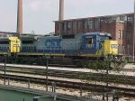 CSX C40-8 7637 at Hulsey Yard