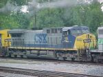 CSX C44WAC 151 at Howell Wye