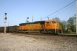 BNSF 8812 is playing the role of DPU today