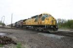 UP 6722 on heritage coal train