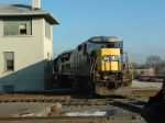 CSX passes the Joliet Tower
