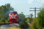 INRD train Z490 passes semaphore on former Monon