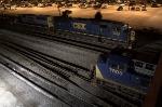 CSX Trains G667 & Q595