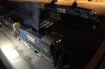 CSX Trains Y222 & Q595