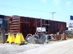Soo Line Storage Boxcar