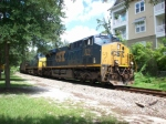 Southbound Coal train between Maitland and Winter Park FL