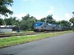 Amtrak Silver Meteor in Winter Park FL