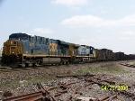 CSX 5470 leads westbound coke train